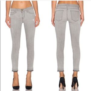 Current Elliot the Stiletto raw hem gray dillion